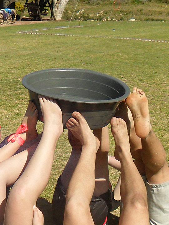 Teambuilding at Oaksrest Vineyards