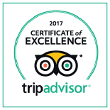 Trip Advisor 2017 badge